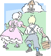 Jack and Jill up the hill